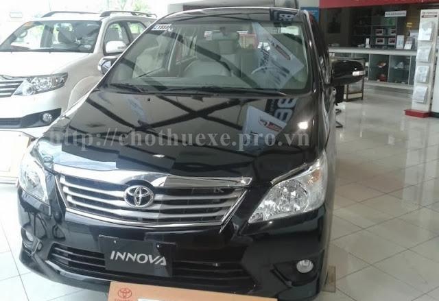 Cho thuê xe Innova 2013 - Toyota Innova G