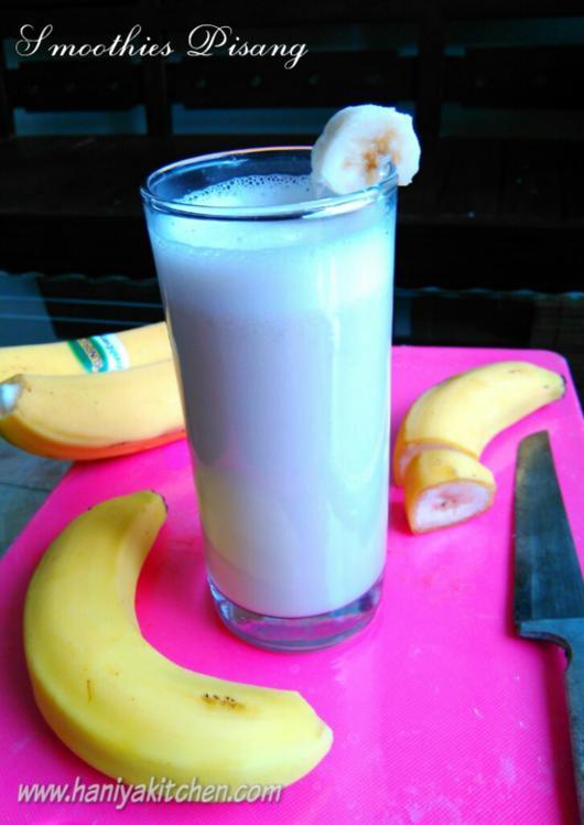 resep smoothies pisang sehat dan segar