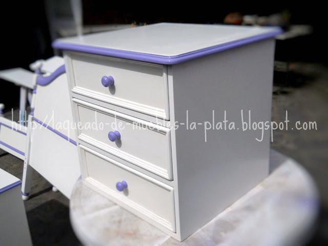 Laquear muebles de dos 2 colores