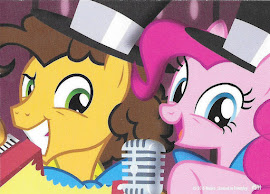 My Little Pony Cheese & Pinkie Series 3 Trading Card