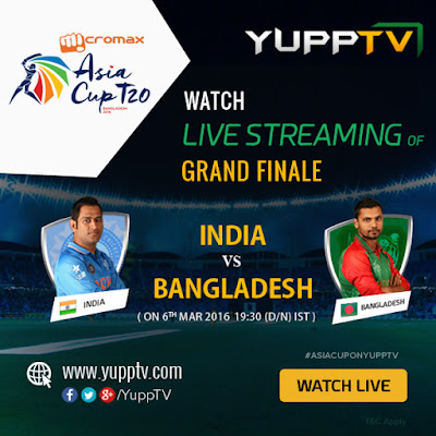 Ind vs Ban Asia Cup Final Live
