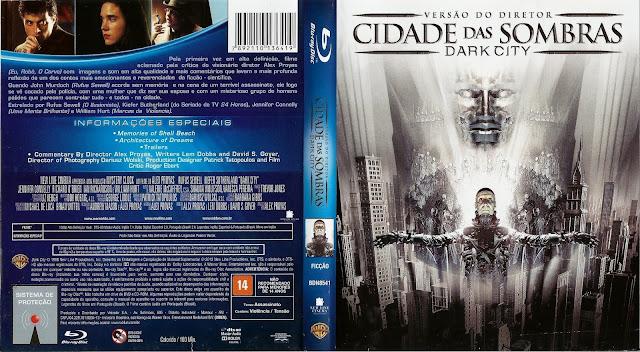 Capa Bluray Cidade Das Sombras Versão Do Diretor