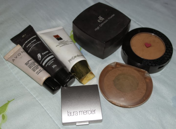 favoritos-de-janeiro-2014-maquiagem-cabelos-pele-cuidados-corretivo-avon-magix-laura-mercier-duo-primer-dailus-base-yves-saint-laurent-ysl-hd-po-elf-quem-disse-berenice-maybelline-bronzer
