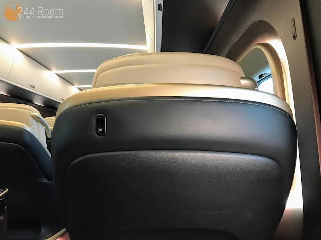 グランクラスE7座席 GranClass-E7-seat3