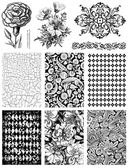 Background Wedding Pics Background Rubber Stamps