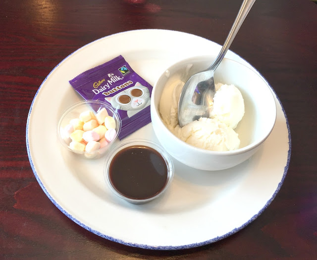 kids icecream pudding anson wallsend sizzling pub