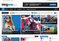 MagOne Responsive Blogger Teması