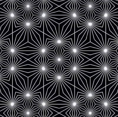 Light Emitting Nodes Optical Illusion