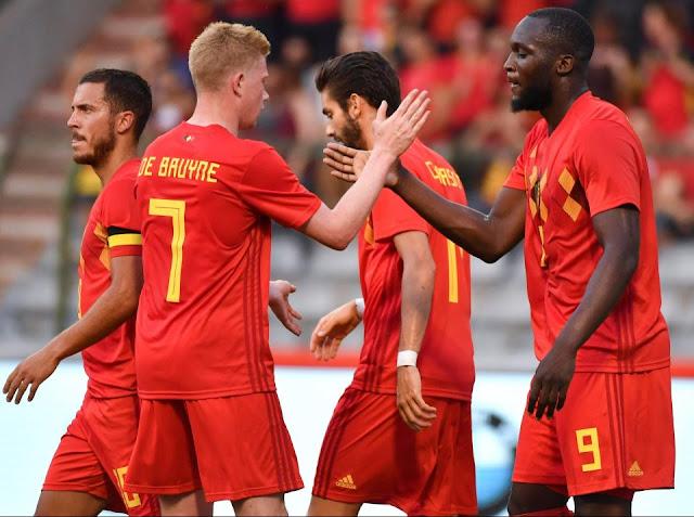 Bỉ bê nguyên đội hình B để đối đầu với Anh