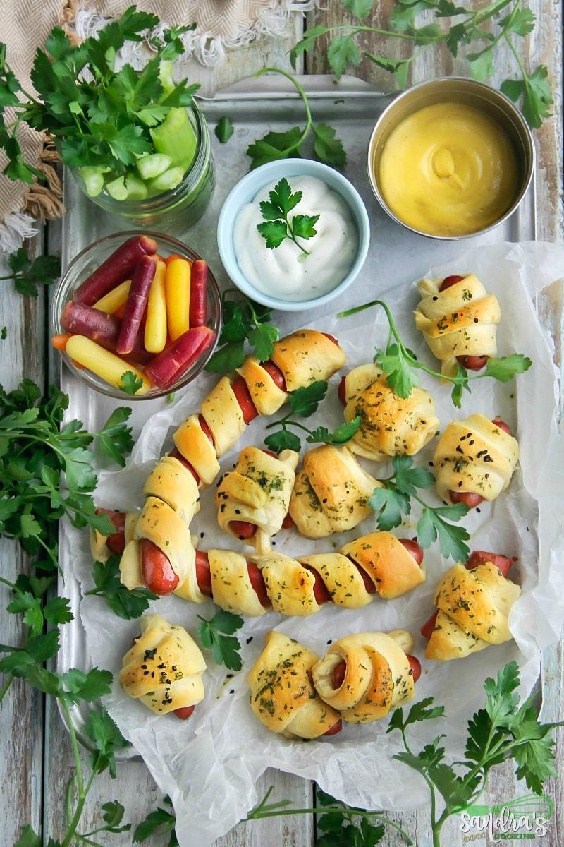 Piglets in a blanket #recipe #appetizers