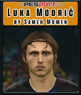 PES 2017 Faces Luka Modrić by Sameh Momen