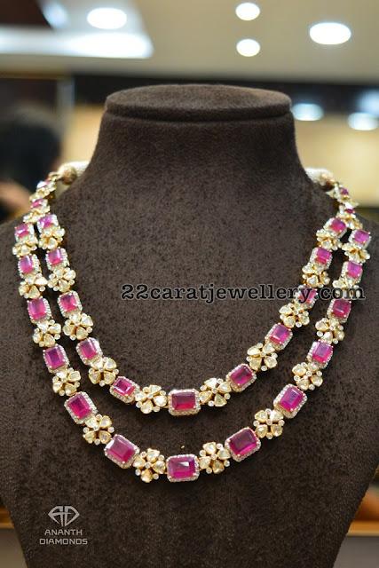 Flat diamond Chokers by Ananth Diamonds