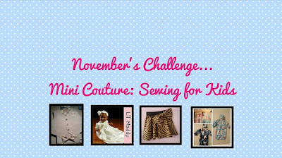 Starting to Wrap Up the Mini Couture Challenge !