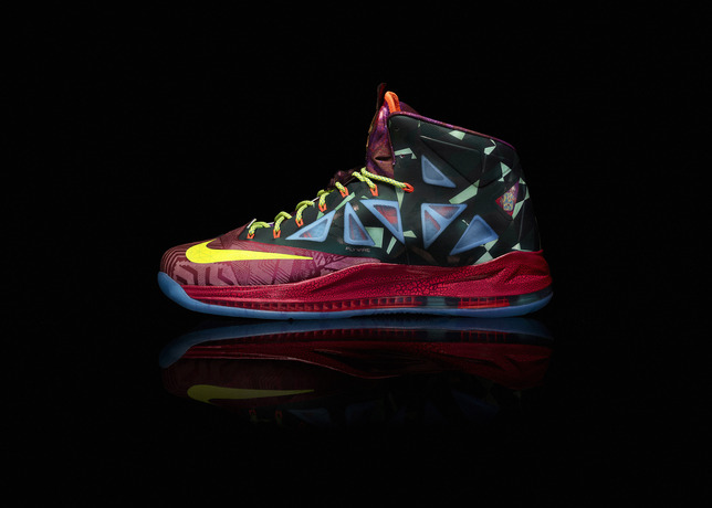 af96716eaa127 LeBron James is a once in a generation talent and Nike Basketball is  celebrating his fourth MVP award with a special LeBron X MVP shoe release  this Friday