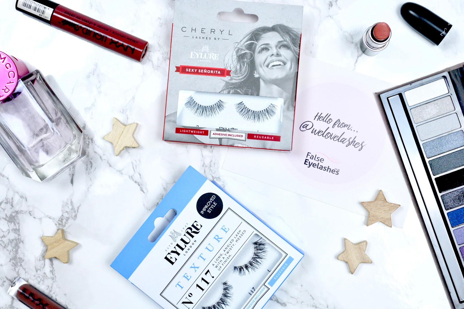 We Love Lashes, False Eyelashes, Lashes, Falsies, Eylure, Eylure Texture Lashes, Eylure Cheryl Lashes, False Lash Review, Beauty