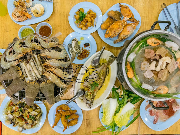 Eat All You Can Asia Seafood Buffet + Mookata + Ala Carte For 388 Thai Baht Only