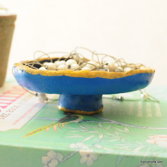 diy clay bowl