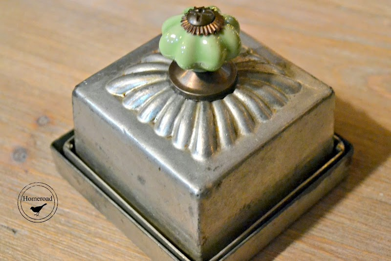 Vintage Tin Candle