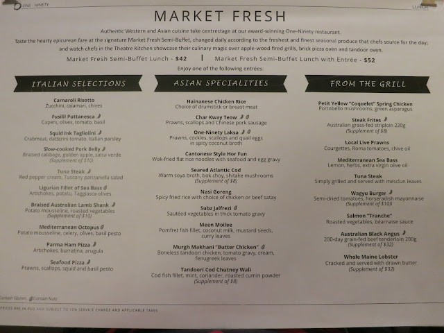 market fresh menu