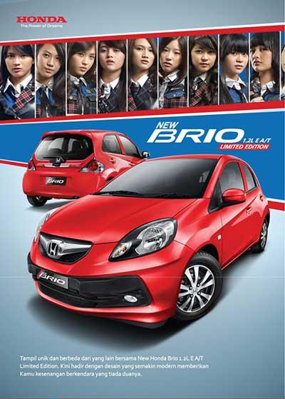 Jual Honda Brio Bandung
