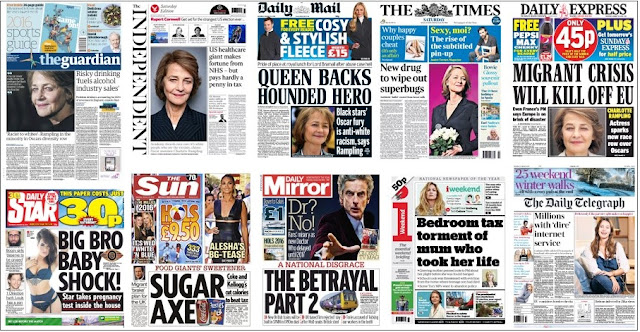 front pages jan 23