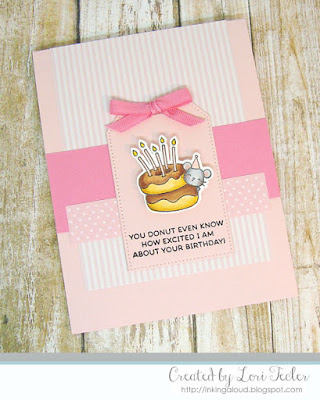 You Donut Even Know card-designed by Lori Tecler/Inking Aloud-stamps from Mama Elephant