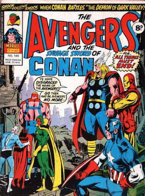 Marvel UK, Avengers #146, Neal Adams