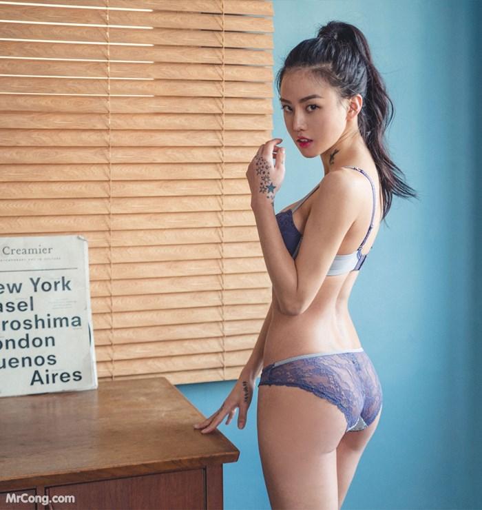 Image Korean-Model-Baek-Ye-Jin-MrCong.com-002 in post Người đẹp Baek Ye Jin trong bộ ảnh nội y tháng 10/2017 (148 ảnh)