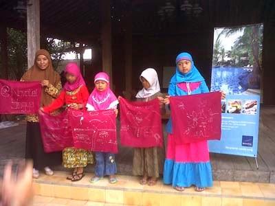 kegiatan csr perusahaan_belajar batik