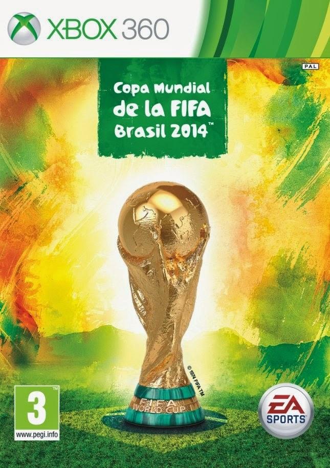 Cover Caratula Copa Mundial De La FIFA Brasil 2014 XBOX 360 ESPAÑOL