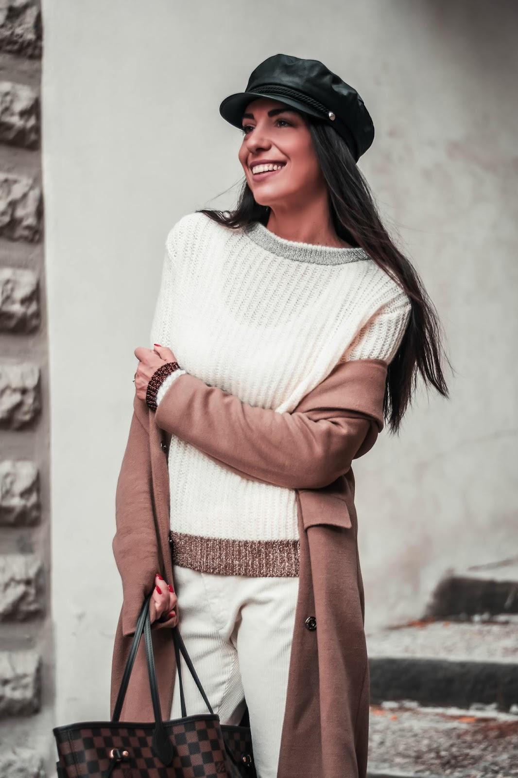 maglione bordi lurex