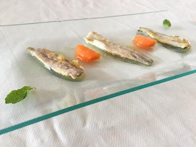 Sardinas en escabeche de cítritos