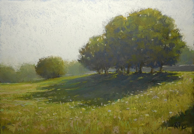 Pastel Lanscape In a Family