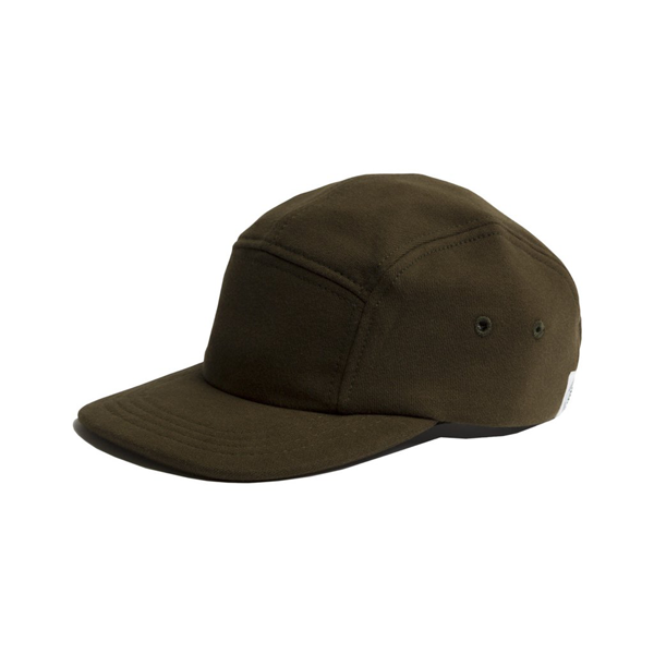new style 5e824 07b34 Reigning Champ Knit Mid Weight Terry 5 Panel Hat. Available in Black and  Olive. RC-7041