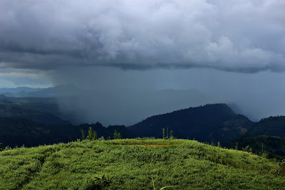 Rain bearing cloud, Keokradong, Bandarban, Bangladesh