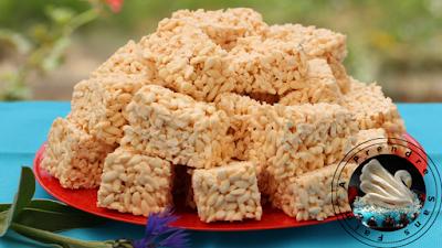 Carrés croustillants au riz soufflé en vidéo