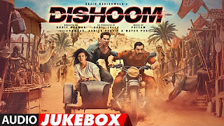 Watch Dishoom (2016) Full Audio Songs Mp3 Jukebox Vevo 320Kbps Video Songs With Lyrics Youtube HD Watch Online Free Download