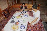 Uzbekistan, Samarkand, Oxus, Sobir, plov, topchan, © L. Gigout, 2012
