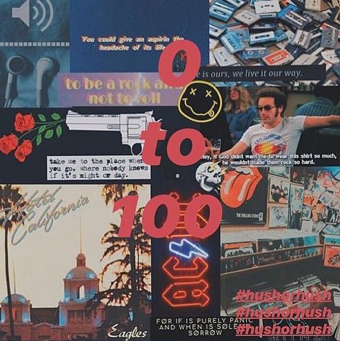 HUSH - 0 TO 100