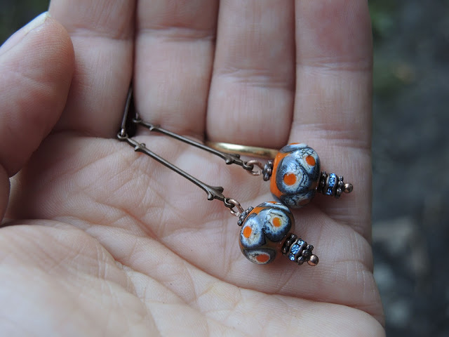 gratis oorbellentutorial / Free diy for earrings by/door moois van m(i)e