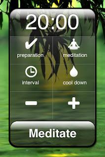 Meditate - Meditation Timer Cell Phone App