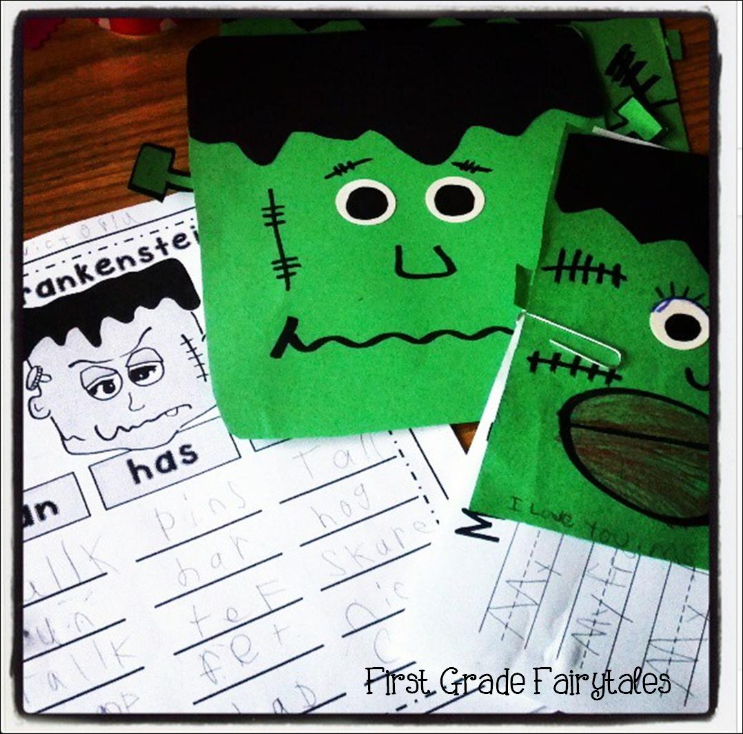 First Grade Fairytales Last Minute Halloween Craft