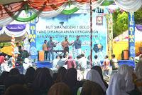 Perayaan HUT ke-34 SMAN 1 Bolo Berlangsung Meriah