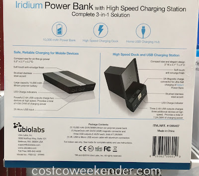 Power Bank Hypercharge Dock - practical, convenient, fast