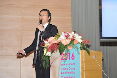 吳醫師於國際長庚美容會議(2016 CGAC)演講
