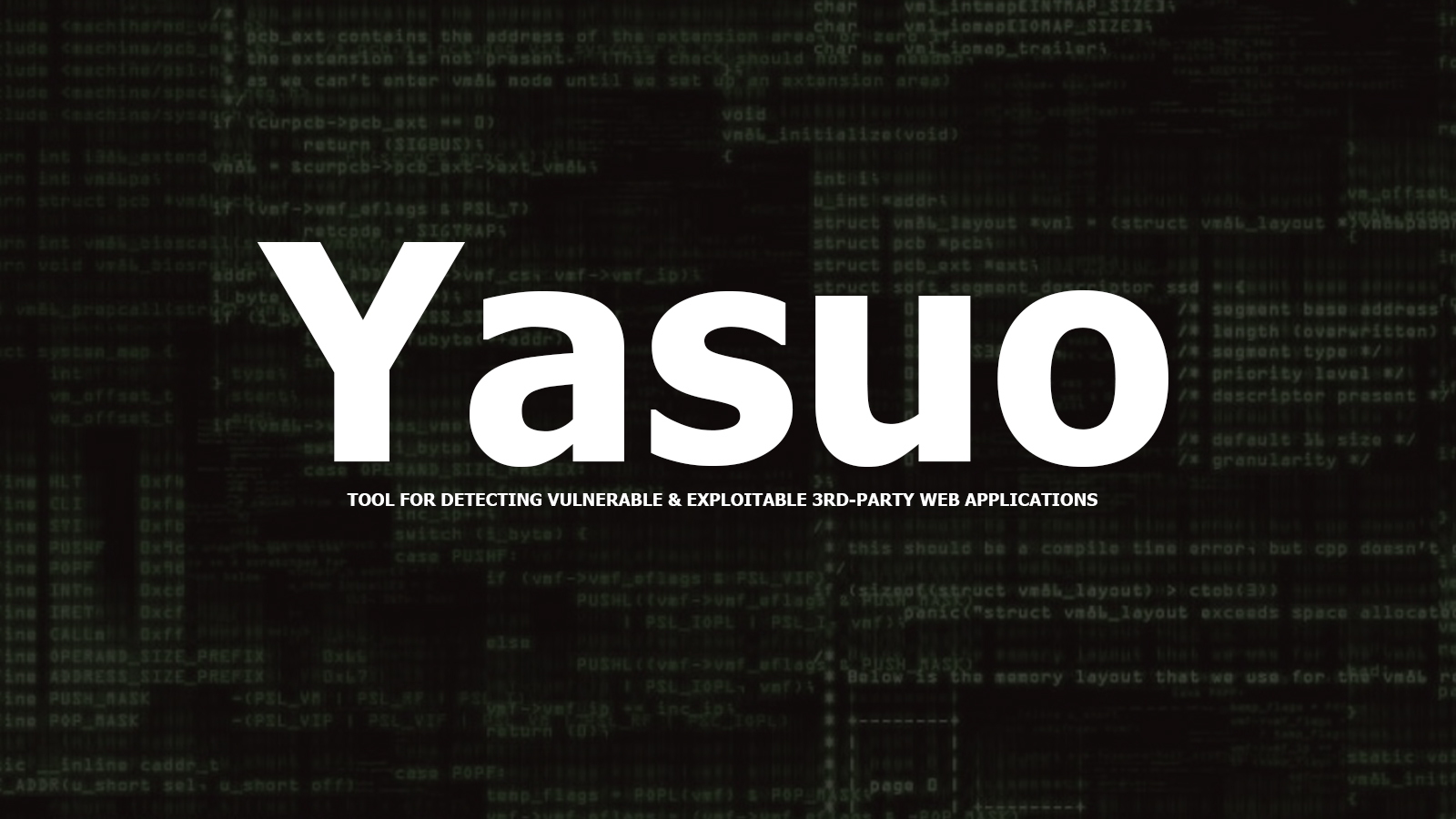Yasuo - Tool For Detecting Vulnerable & Exploitable 3rd-party Web Applications