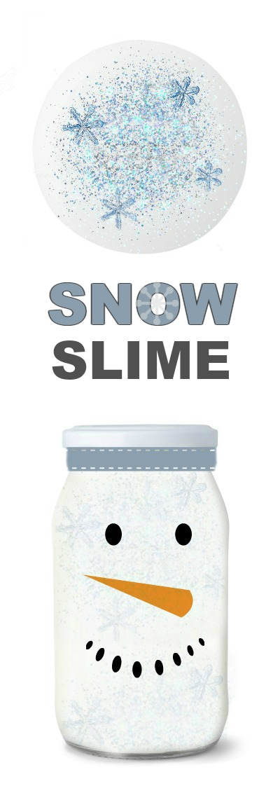ICY-COLD SNOW SLIME: Full tutorial with ways to play #snowslime #snowslimerecipe #slime #slimerecipe #slimerecipeeasy #slimeforkids #growingajeweledrose