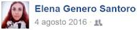 Elena Genero Santoro, profilo Facebook.