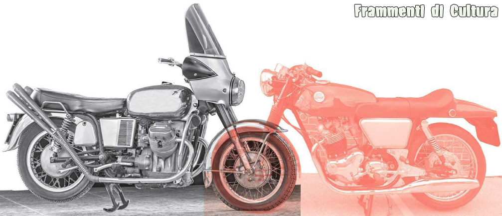 Artisti e motocicli, Guzzi V7 Norton Commando