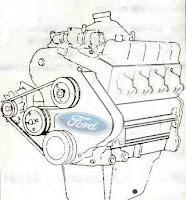 Ford Transit Форд Транзит фото двигатель 2,5 дизель image